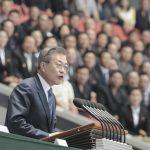 南韓總統首對北韓民眾講話 文在寅說了7分鐘
