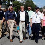 川普視察北卡州:對颶風災區百分百支持