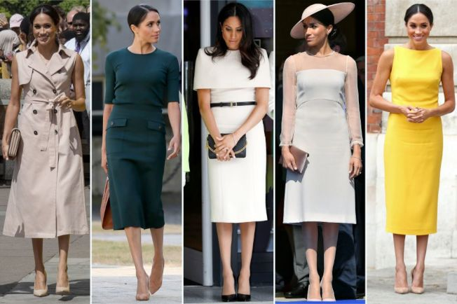 梅根馬克爾成為時尚指標。(Getty Images)