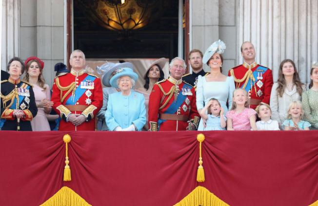 英國王室成員。(Getty Images)