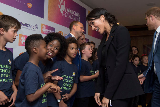 梅根馬克爾出席慈善活動。(Getty Images)
