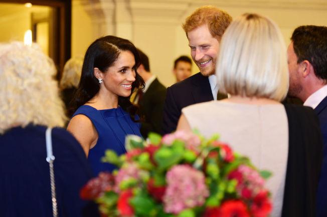 梅根馬克爾與哈利王子。(Getty Images)