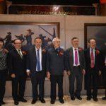 廣僑頌油畫展 華埠勝利堂開幕