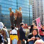 慰安婦紀念碑周年 民眾籲日道歉