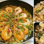 我愛一個人煮/鮮蝦粉絲煲與炒海瓜子
