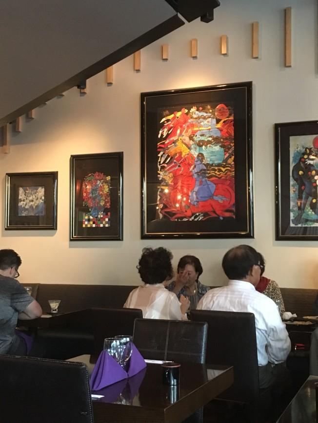 明尼亞波利斯市區的日本餐館Origami,證實上月30日晚間劉強東一行約20人在該餐館用餐,席間有四名女性。(記者陳曼玲╱攝影)