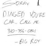 車沒被撞留電話 當心詐個資