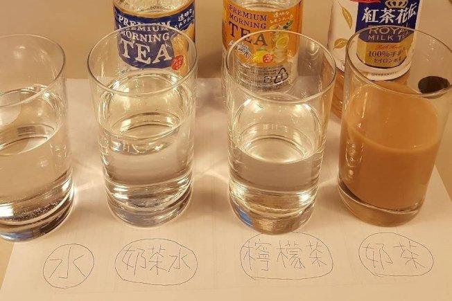 玻璃杯裝飲品最安全。記者陳睿中/攝影