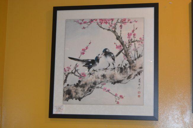 半路出家的嶺南派畫家 蕭日明畫出精采