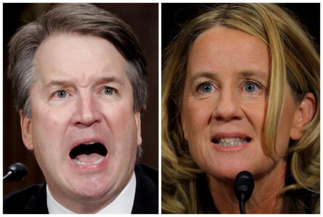 根據路透社/易普索(Reuters/Ipsos)民調,40%的美國人相信福特女教授對美國最高法院大法官人選卡瓦諾(Brett Kavanaugh)作出的不當性行為指控,30%不相信、剩下的則是不知道。(路透)