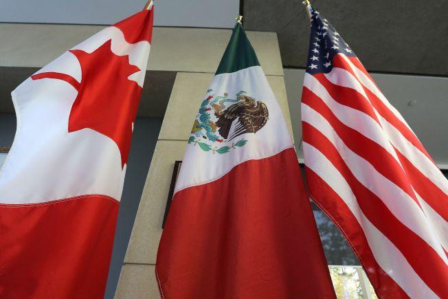 北美自由貿易區協定(NAFTA)走入歷史,現在要叫「美國─墨西哥─加拿大協定」(USMCA)。Getty Images