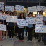 25學區會議 華裔家長反對廢SHSAT