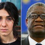 諾貝爾和平獎得主出爐 得獎原因:防止性暴力