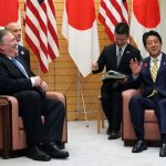 龐培歐會安倍 允諾向北韓提這個問題