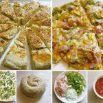 我愛一個人煮/蔥花大餅和披薩