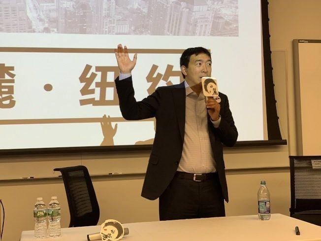 楊安澤 籲移民、留學生用選票拉下川普