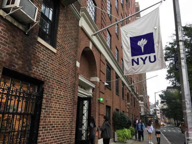 紐約大學近幾年發生多起自殺事件,校方增加心理諮詢人員,幫助學生解決心理問題。(記者張筠/攝影)