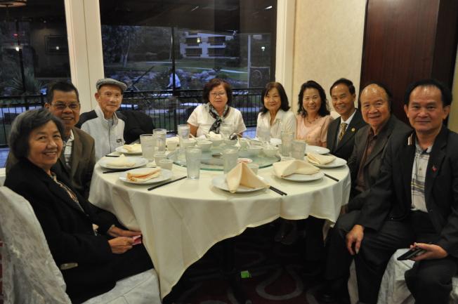 越棉寮團體響應中華民國雙十國慶,到場祝賀。(記者陳良玨╱攝影)