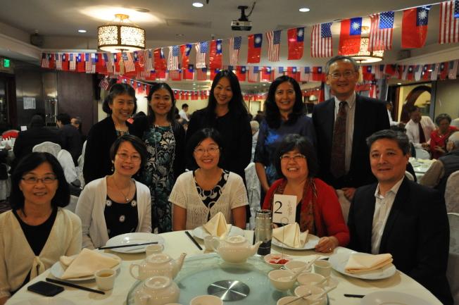 北郡中文學校、中華文化聯誼會和北郡文教中心歡慶中華民國生日,響應雙十國慶慶典。(記者陳良玨╱攝影)