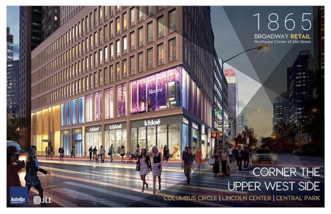 「百老匯大道1865號」集共有公寓、出租公寓和零售區為一體。(取自JLL官網)