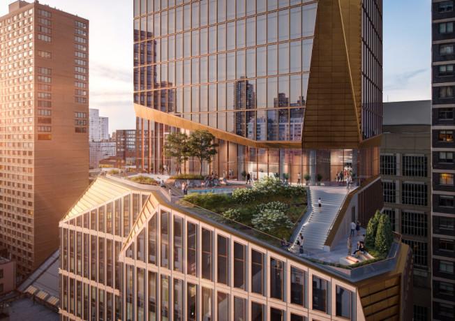 摩天大樓「西66街50號」將為曼哈頓天際線添彩。(取自Snøhetta官網)