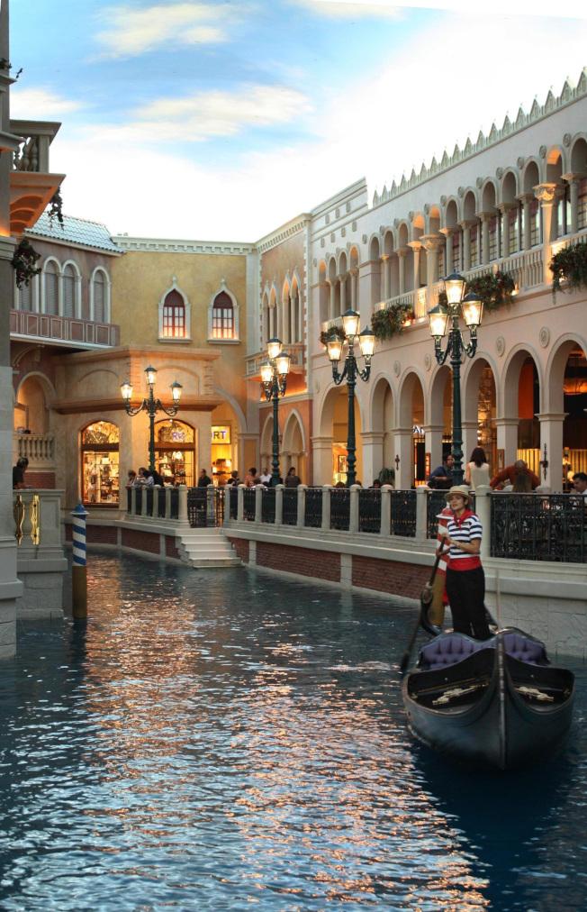 大運河購物中心的斯威尼斯水城。