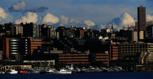 西雅圖買房的總前期成本,幾乎是美國平均水平的兩倍。(記者王又春/攝影)