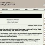 中國間諜徐燕軍  FBI在比利時誘捕