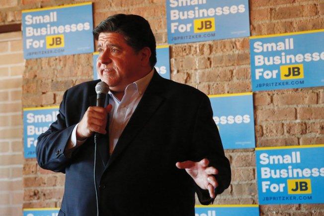 民主黨伊州州長候選人普立茲克說,無證移民有著伊州經濟。(普立茲克臉書)