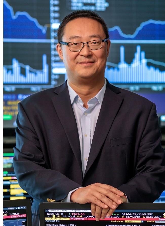 香檳伊利諾伊大學(UIUC)吉斯商學院(Gies Business School)金融系副教授葉茂,獲得NSF撥款為改革華爾街獻策。(UIUC吉斯商學院提供)
