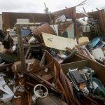 麥可颶風登陸 佛州一片倒