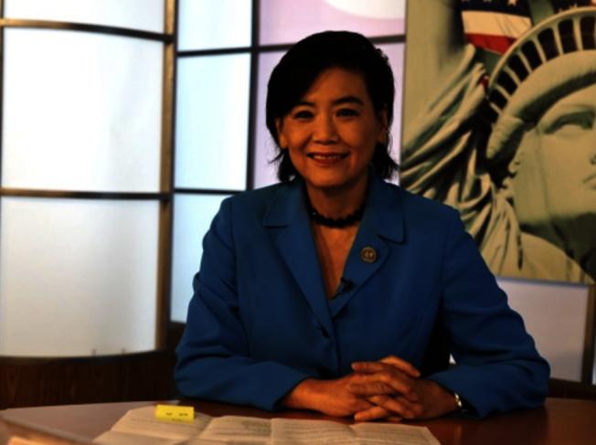 聯邦眾議員趙美心9日在華府提出一項法案,希望阻止「公共負擔移民嚴限取得綠卡」的實施。(本報檔案照)
