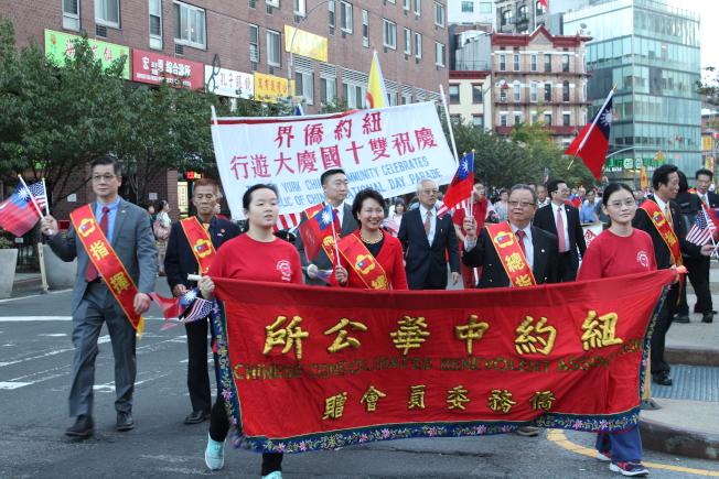 徐儷文表示,海外的僑胞不但參與中華民國的創建,也見證了中華民國的發展。(記者張筠/攝影)