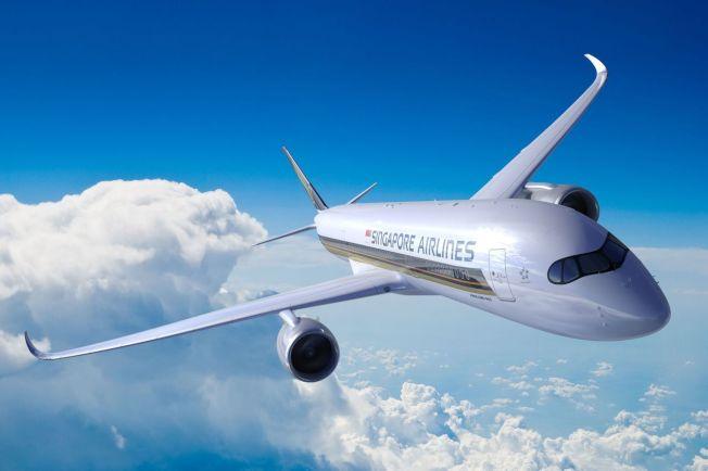 新加坡航空啟用全新空中巴士A350-900ULR機型,可搭載161名乘客。( Getty Images)