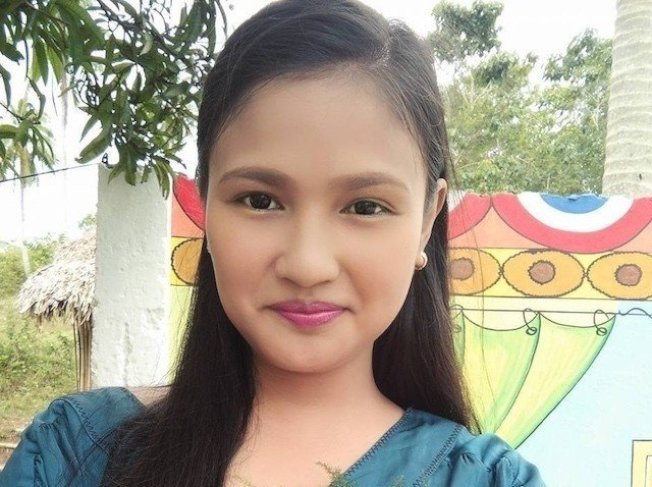 女教師杜然德(Mylene Veras-Durante)被意圖性侵他的17歲男學生殺害。 擷自Rappler