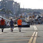 颶風麥可肆虐 佛州墨西哥海灘沿海房舍幾乎全毀