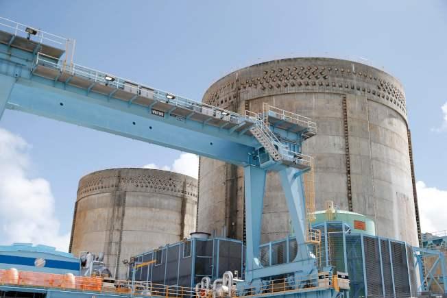 華爾街日報報導,美國11日對出口核技術至中國實施立即生效的新限制。圖為美國佛羅里達州核電廠的反應爐。法新社
