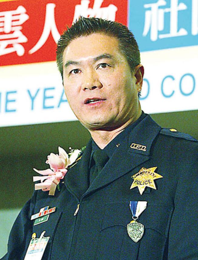 被聯邦司法部起訴貪汙受賄等多項罪名的前屋崙警局副分局長胡威明。(本報檔案照片)
