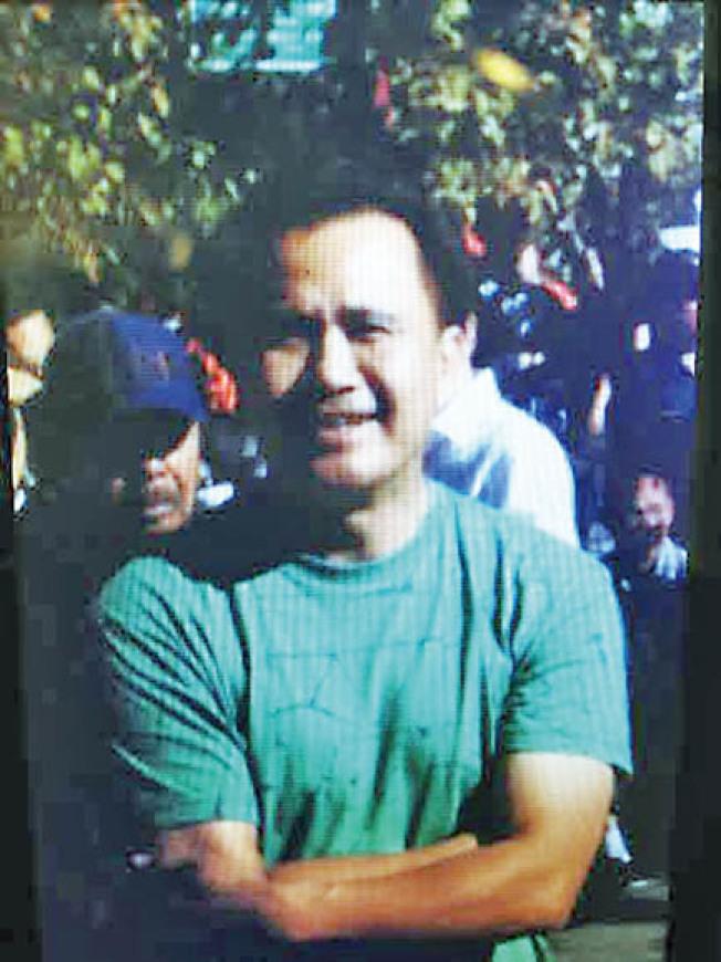 2013年在舊金山以北200哩荒郊被槍殺的合勝堂會員江達安。(檔案照片)