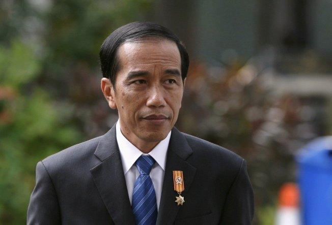 印尼總統佐科威。 路透