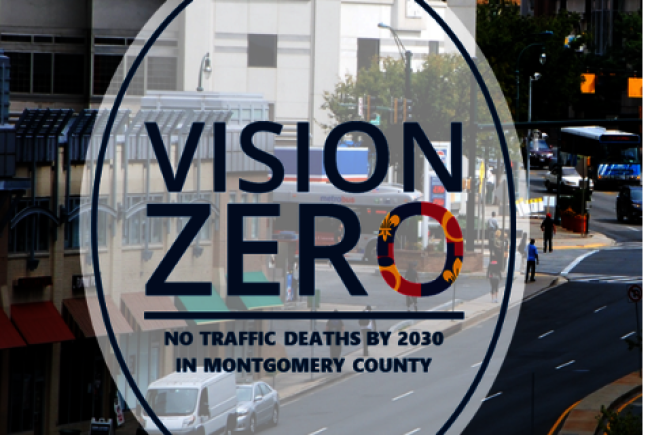 降低行人交通事故 蒙郡邀學生當「零死亡願景大使」