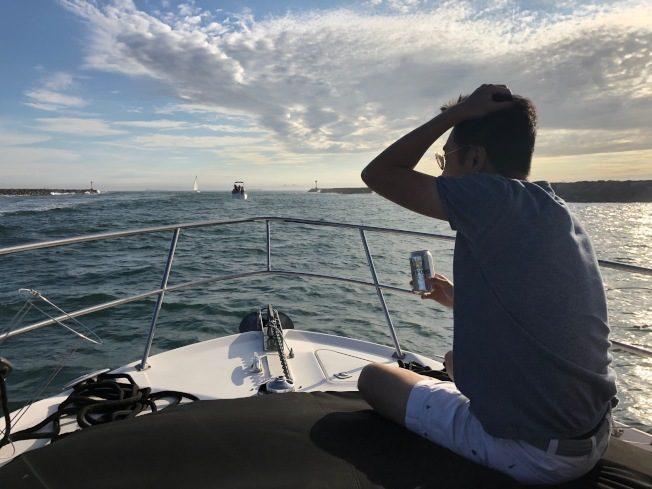長堤港出海遊 悠閒自在
