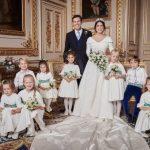 尤吉尼公主結婚照曝光 喬治王子燦笑超吸睛