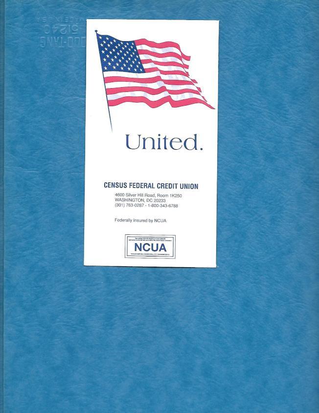 人口普查局用信封送上40元現金。(作者提供)