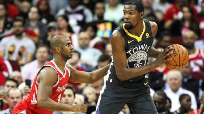 NBA新賽季 火箭是勇士奪冠最大絆腳石