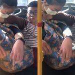 媽媽公車上熟睡 幼子當最柔軟枕「手撐20分鐘」