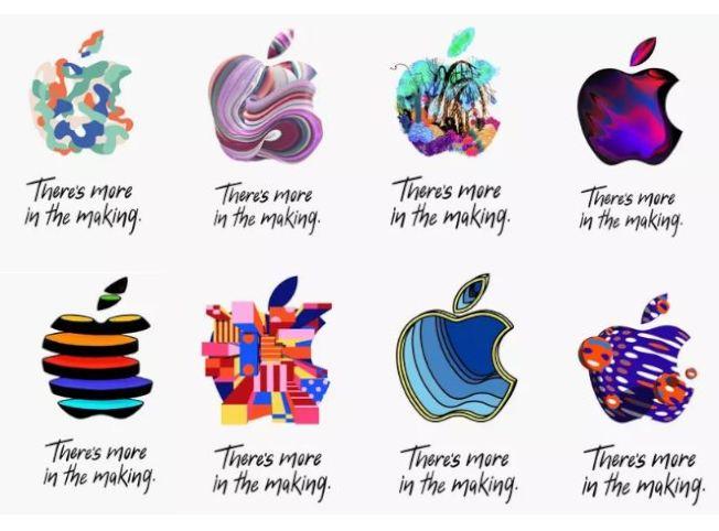 蘋果10月30日舉行產品發布會,媒體邀請函的圖案五花八門。 網路照片