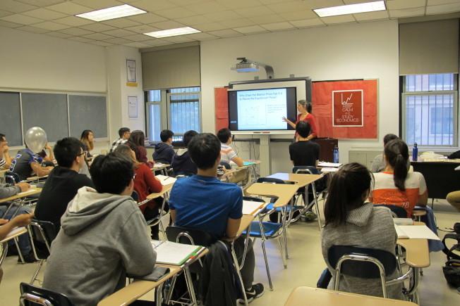 學生認為,特殊高中有更好的資源,值得為考進去而努力。(本報檔案照)