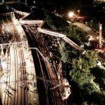 台鐵火車翻覆 死亡車廂撞擊變形 死傷慘重靜無聲