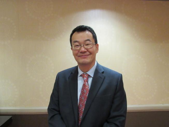 Lawrence Yun表示,目前中國為美國房地產主要買家,占15%。(記者顏嘉瑩/攝影)